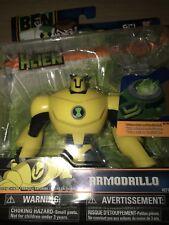 "BEN 10 Ultimate Alien 4 "" Armodrillo Cartoon Network New 2010 Factory Sealed"
