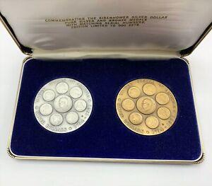 Eisenhower Silver & Bronze Commemorative Medals - .999 - Medallic Art Co.