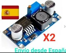 2x Convertidor DC 3A 1,25-32V Regulable LM2596 STEPDown Modulo Fuente Arduino A