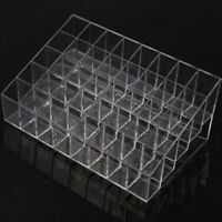 40 Slots Lipstick Holder Display Stand Cosmetic Organizer Makeup Case Acrylic