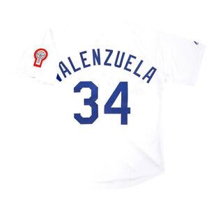 Fernando Valenzuela 1981 Los Angeles Dodgers Home White Jersey Men's (M-2XL)