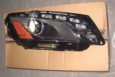 BRAND NEW 2009-2012 AUDI Q5 RIGHT LED XENON HEADLIGHT, PART# 8R0941030K, OEM