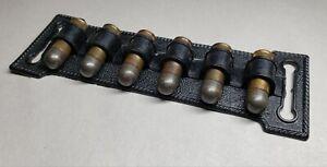 Vtg Mattel Toy Cap Gun Bullets w/ Belt Cartridge Holder - Fanner 50 Pistol Rifle