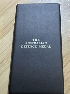 Australian Defence Medal Original Named