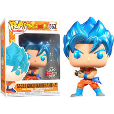 Dragon Ball Z - SSGSS Goku Kamehameha Metallic Pop! Vinyl Figure