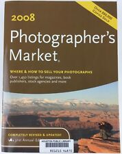 Photographer's Market 2008 by Donna Poehner 2007 Paperback Library Discard