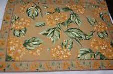 NWT NEW April Cornell Hydrangea Tablecloth Dining Cloth in Honey Table for 6