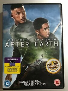 After Earth DVD 2013 Shyamalan Sci-Fi Movie with Will Smith and Jaden Smith