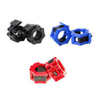 High StrengthNylon 1Inch Barbell Clamps Clip Quick Release Locking Barbells Lock