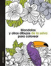 Mandalas y otros dibujos florales para colorear. ENVÍO URGENTE (ESPAÑA)