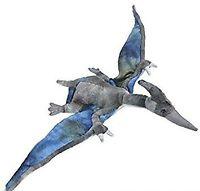 "13.5"" Animal Den Pteranodon Plush Dinosaur Toy"