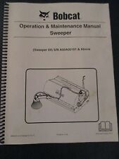 Bobcat Skid Steer SWEEPER 84 Operation & Maintenance Manual  revised 2013