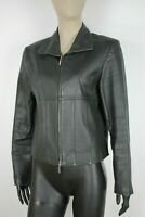 CAPPOTTO YOORS PELLE/LEATHER Giubbotto Jacket Giacca Tg M Donna Woman C