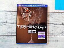 Terminator Genisys (Blu-ray 2D & 3D + DVD + Digital Copy) Arnold Schwarzenegger