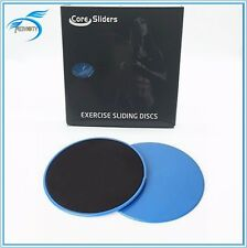 Lot of 20 Dual Sided Gliding Discs Core Sliders Exercise Sliding Strength Carpet