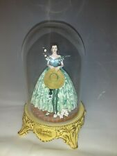 Gone with The Wind 'Scarlett's Flirtations' Glass Domed Figurine 1993 Turner
