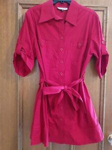 Women's dream diva red shirt dress