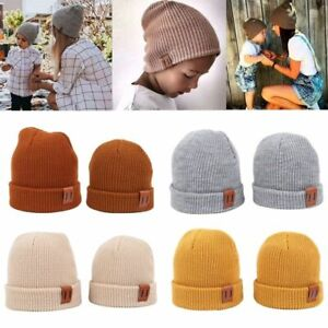 Baby Hat 9 Colors Boy Warm Winter Kids Beanie Knit Children Cap Newborn Cotton