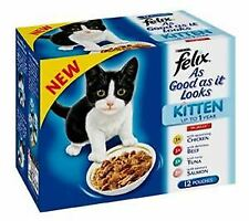 Felix Kitten AGAIL Mixed Variety (12Pk) 100g - 10184