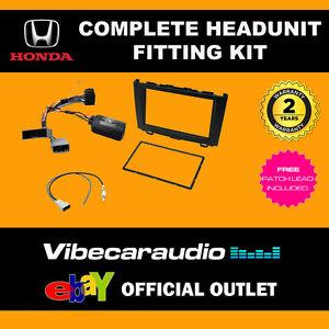 CTKHD04 Honda CR-V 2007 - 2009 Car Stereo Double Din Fitting Kit