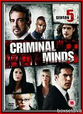 CRIMINAL MINDS - COMPLETE SEASON 5 - FIFTH SEASON *BRAND NEW DVD*