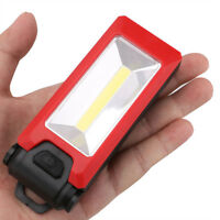 New COB LED Work Light Magnetic Folding Hook Hanging Lamp Flashlight Torch Lamp