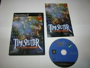 TimeSplitter Time Splitters Japanese Playstation 2 PS2 Japan import US Seller