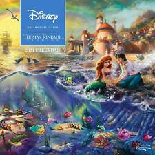 THOMAS KINKADE - DISNEY DREAMS - 2021 WALL CALENDAR - BRAND NEW - 855949