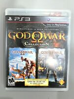 God of War Collection SONY PLAYSTATION 3 PS3 Game COMPLETE CIB Black Label!