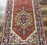 3'x14'2 Wide New Hand knotted Plush Wool super Serapi Herizz Oriental rug runner
