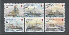 JERSEY 2010 POSTAL HISTORY 4TH SERIES SG,1503-1508 UM/M N/H LOT R379