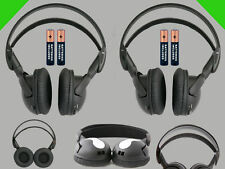 2 Wireless DVD Headsets for Rosen Vehicles : New Headphones Premium Sound