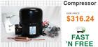 Whirlpool  WPL-W10619807 Refrigerator, Freezer, Dehumidifier Compressor Kit NEW photo