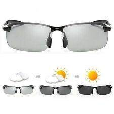 Men Photochromic Lens Polarized Sunglasses Outdoor Driving Fishing Glasses NEW.M