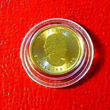 2016 Canada $5 Dollar Gold Maple Leaf Coin 1/10th oz. .9999 Pure Gold
