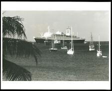 SS Rotterdam B&W Photo - Holland America Line