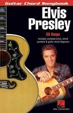 Elvis Presley Sheet Music Guitar Chord Songbook 6 inch x 9 inch Guitar 000699633