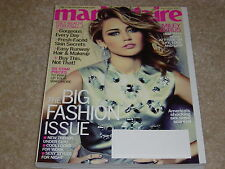 MILEY CYRUS September 2012 MARIE CLAIRE MAGAZINE