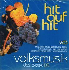 Hit ... - Volksmusik das Beste - 2 CD NEU Ursprung Buam Bergfeuer Jantje Smit