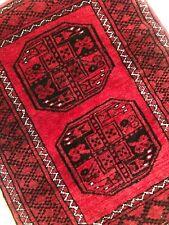2'2'x2'10 Wool hand-knotted Tribal Ersari-rug Mat