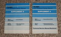 Vintage 1977 AMC Technical Service Repair Manual Supplement Volume 2 and 3 Set