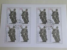 Stamps Czech Republic 2012, Used Sheet