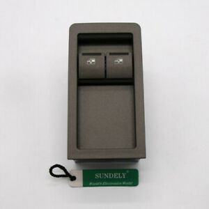 Power Window Master Switch 2 Button gray for Holden Commodore VY VZ 02-06 Ute