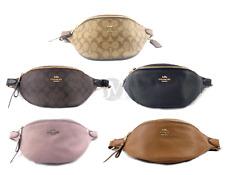 Coach Chelsea Leather Fanny Belt Waist Bag Handbag