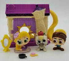 Lot of 3 Disney Doorables & RAPUNZEL's CREATIVE CORNER! Maximus & Flynn Rider