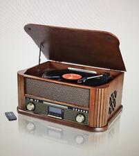 Nostalgie Musikanlage  DAB+ , Encoding, Platte USB Kassette Radio MP3 CD - NEU