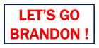 Let's Go Brandon Bumper Sticker