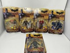 Batman Begins Figure Lot of 5 New~Scarecrow Ducard Ra's Al Ghul Batman +