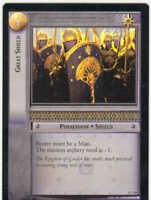 Lord Of The Rings CCG FotR Foil Card 1.C107 Great Shield