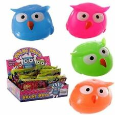 Squidgy Squeezy Splat Owl Ball, NEW